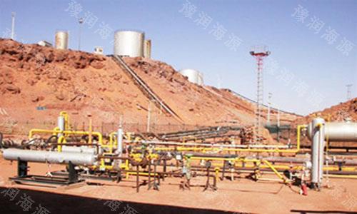 2005年11月为湖南某煤化公司污水处理系统供货